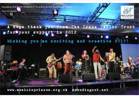 Happy New Year from The Irene Taylor Trust